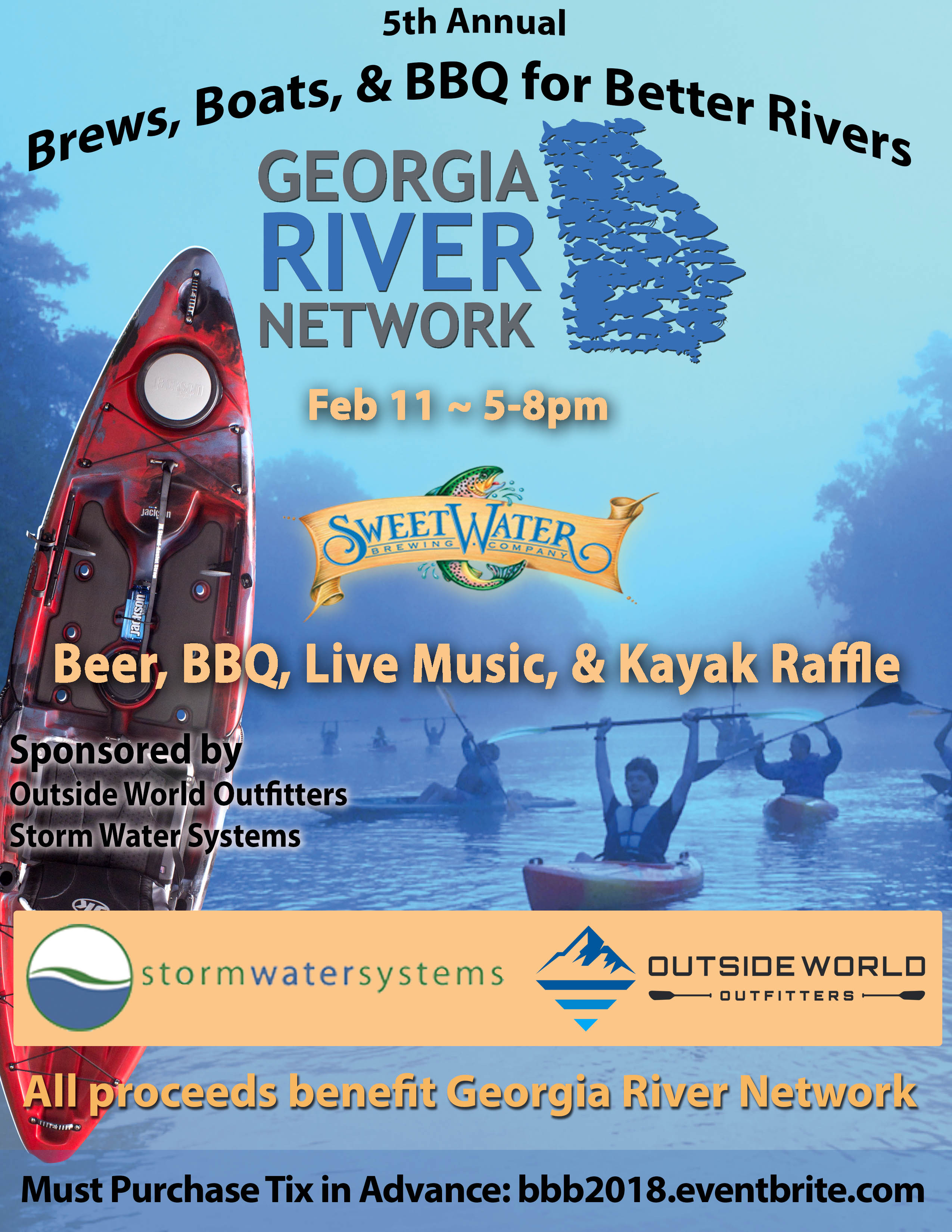 Brews Boats BBQ 2018 flyerKayak